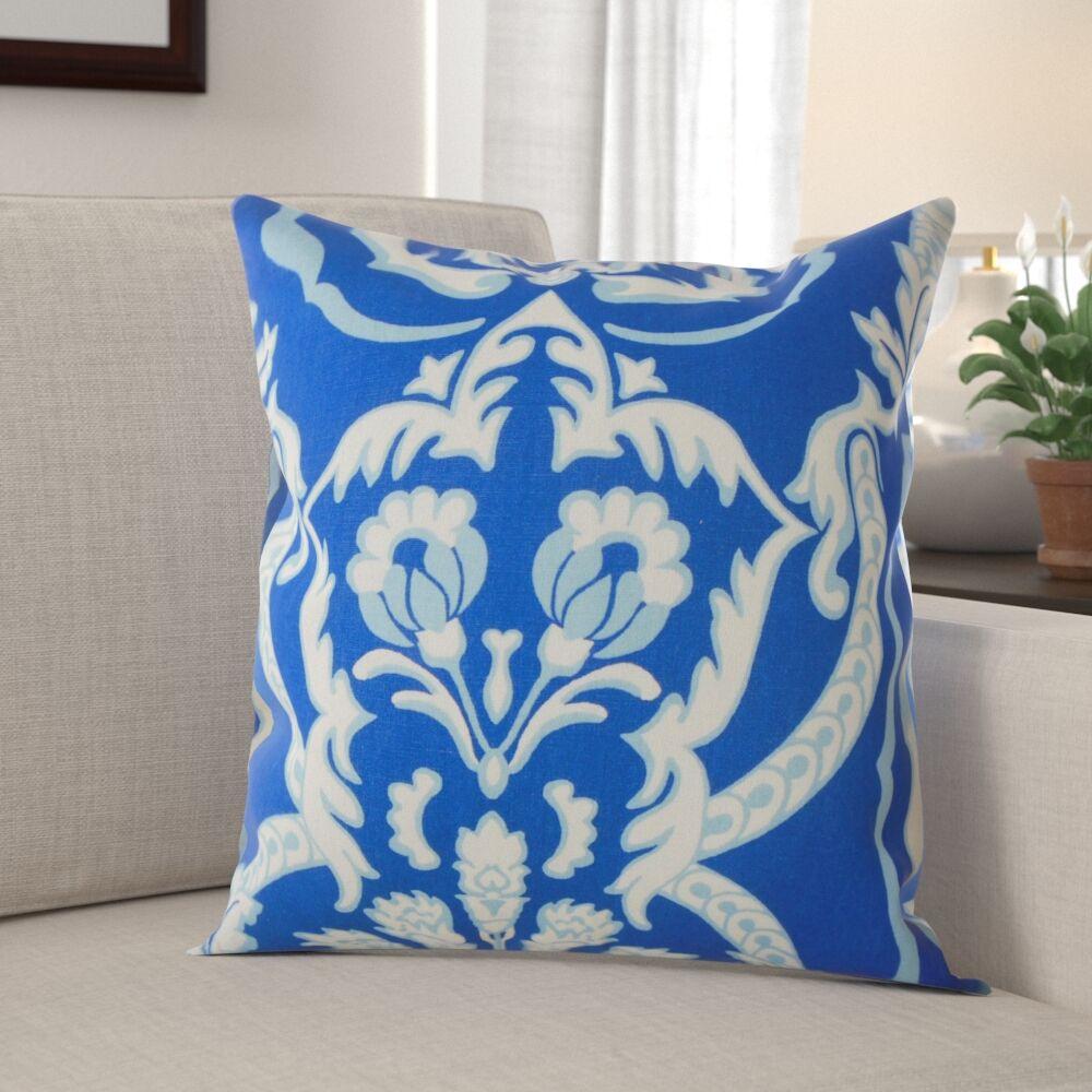 Hibbitts Damask Pillow Size: 20