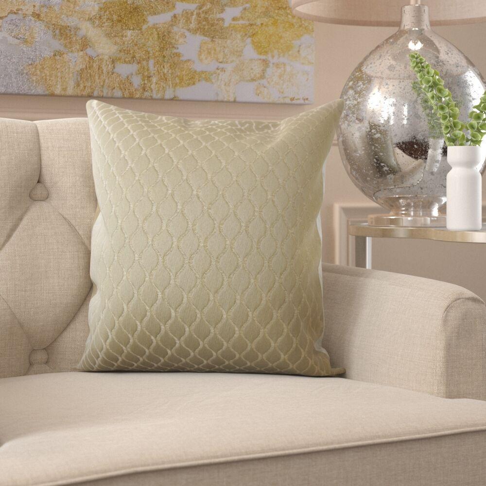 Burris Geometric Pillow Size: 24