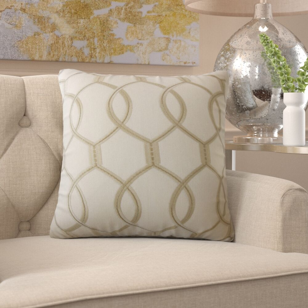 Burks Geometric Pillow Size: 22