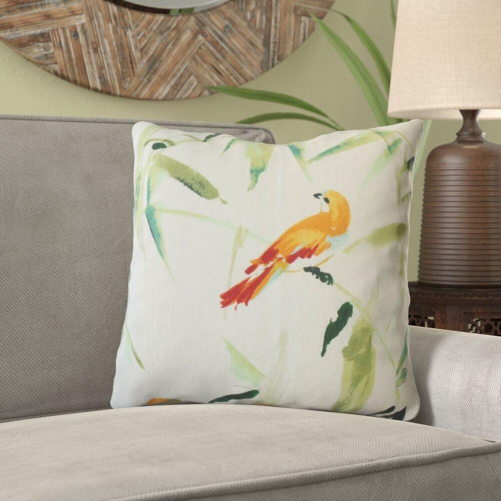 Moraga Floral Linen Pillow Size: 20