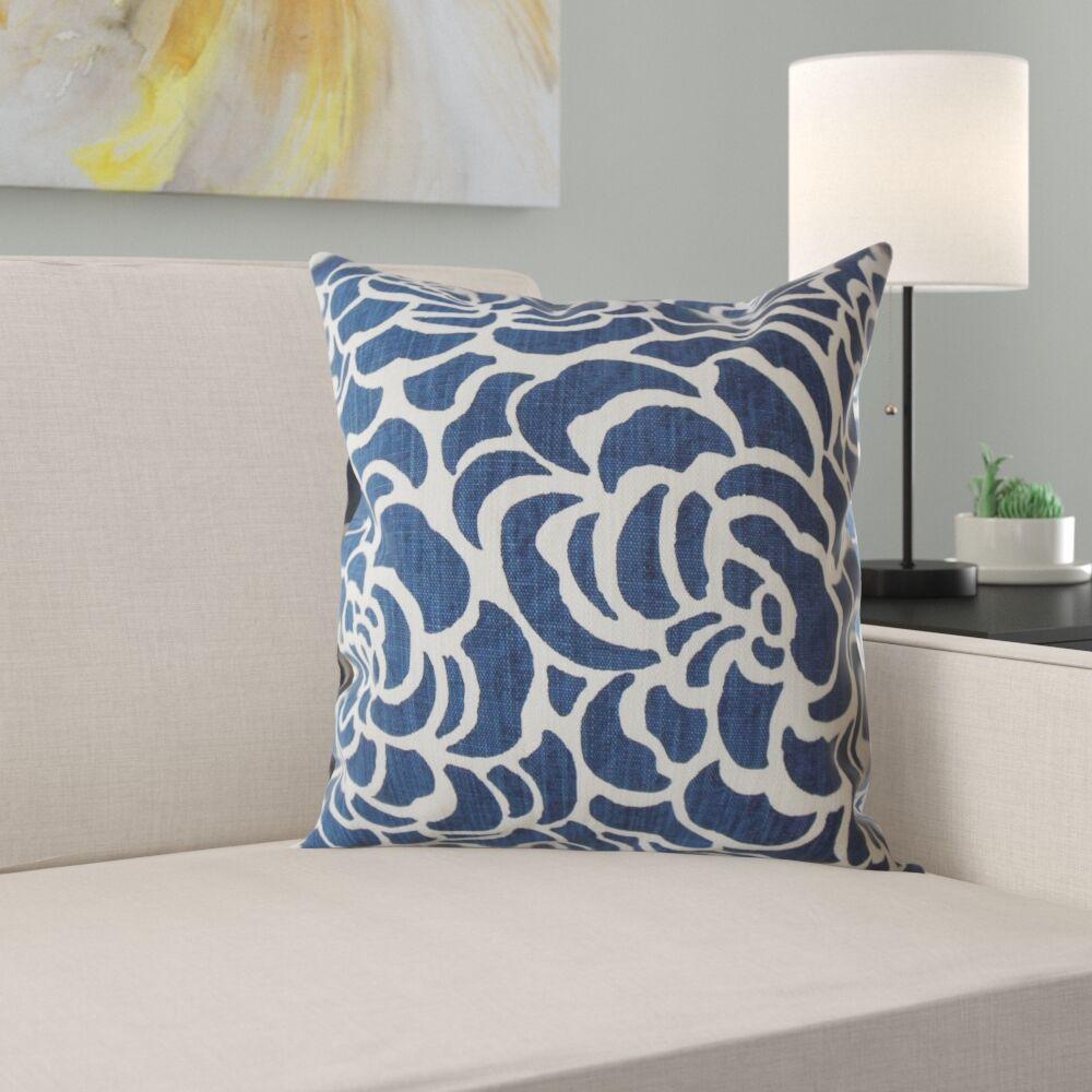 Araminta Floral Pillow Size: 18