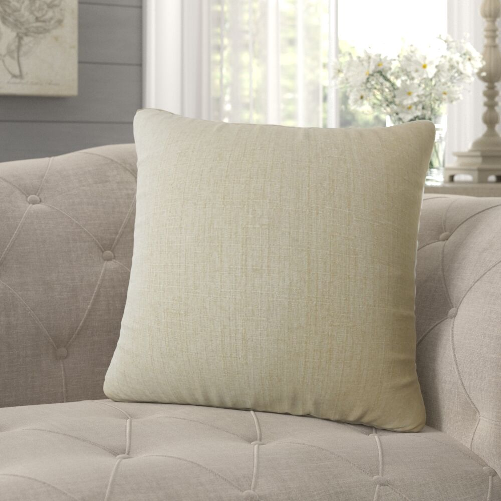 Mendez Solid Pillow Size: 20