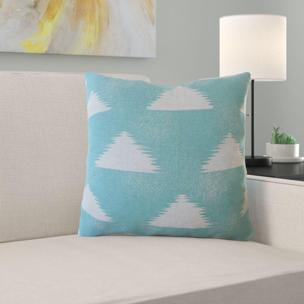 Eliora Geometric Cotton Pillow Size: 24