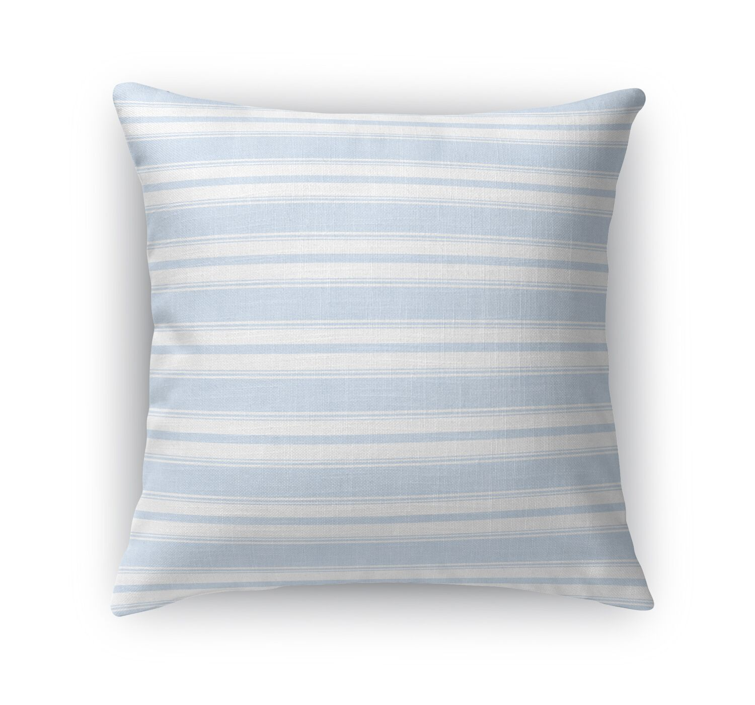 Classic Stripe Largescale Throw Pillow Size: 24