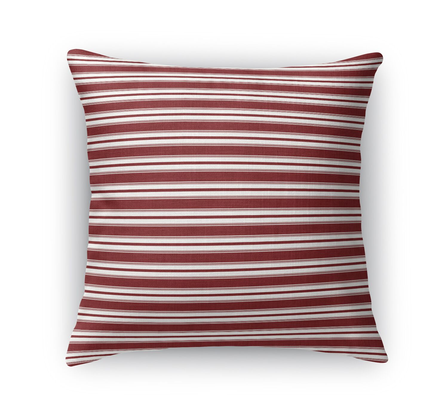 Classic Stripe Throw Pillow Size: 24
