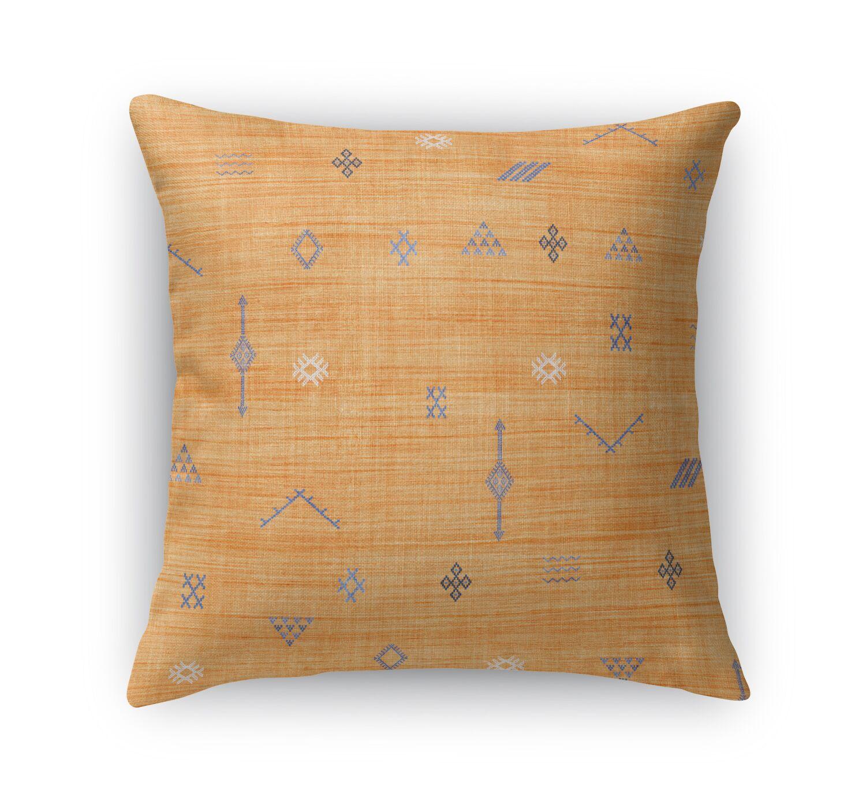 Cactus Throw Pillow Size: 24
