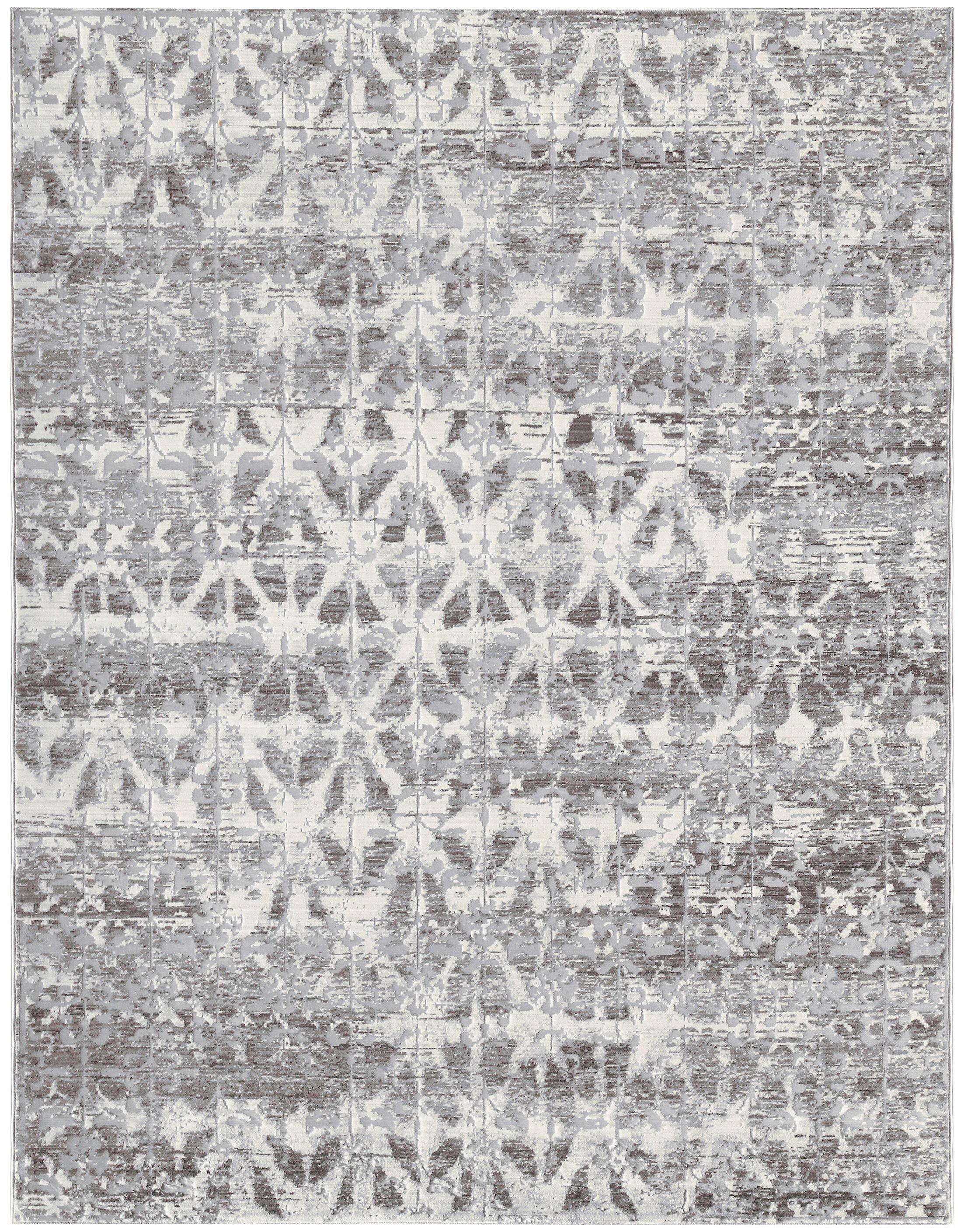 Cambridge Silver Area Rug Rug Size: Rectangle 9'6