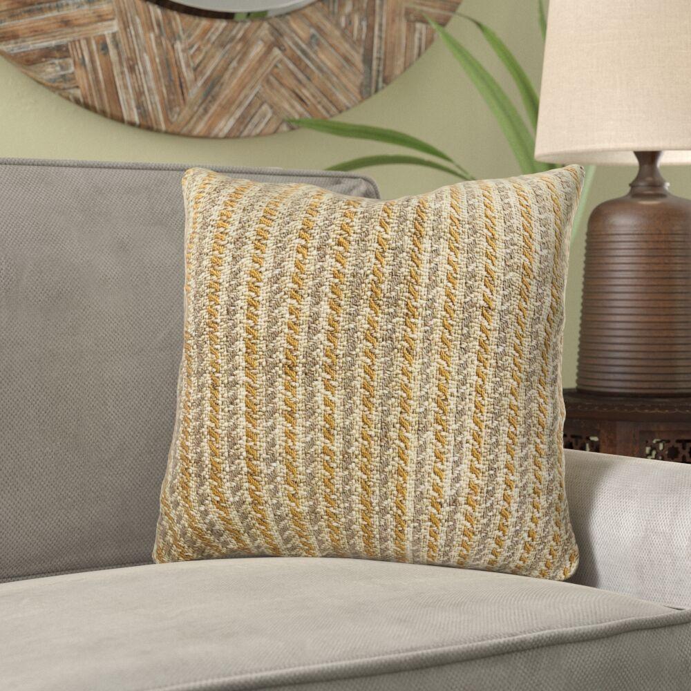 Reider Woven Luxury Pillow Size: 20