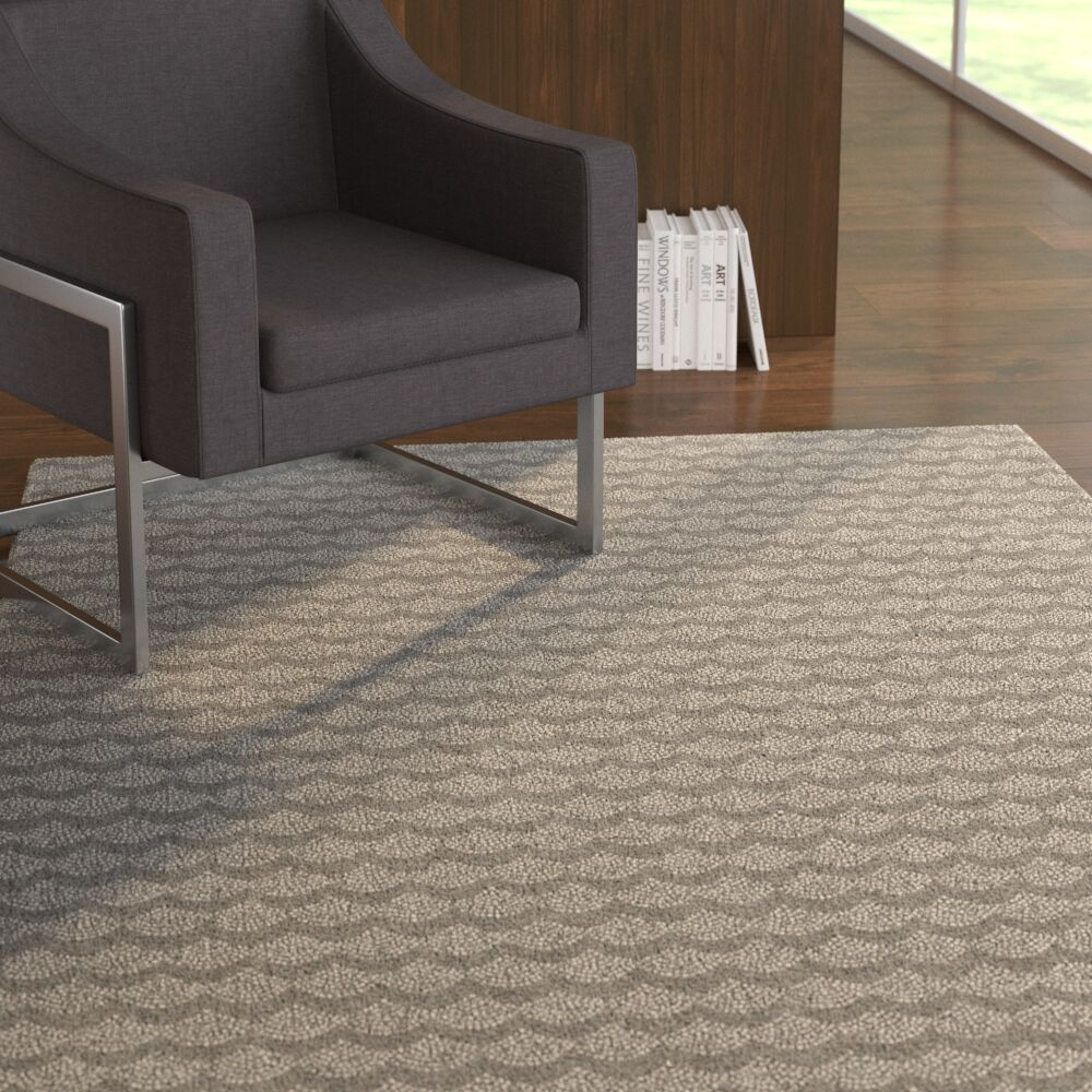 Zoie Gray Area Rug Rug Size: Rectangle 2' x 3'