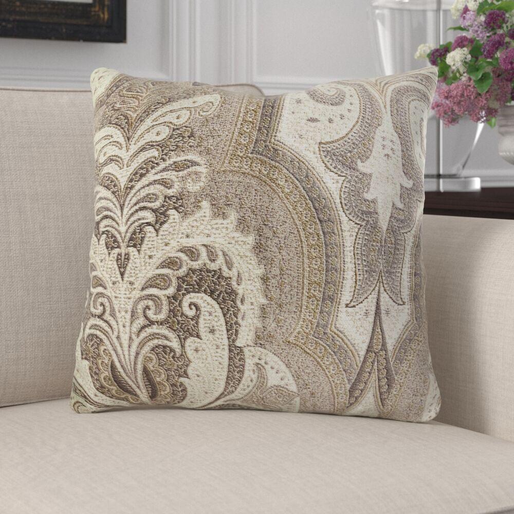 Junipero Damask Luxury Pillow Size: 20