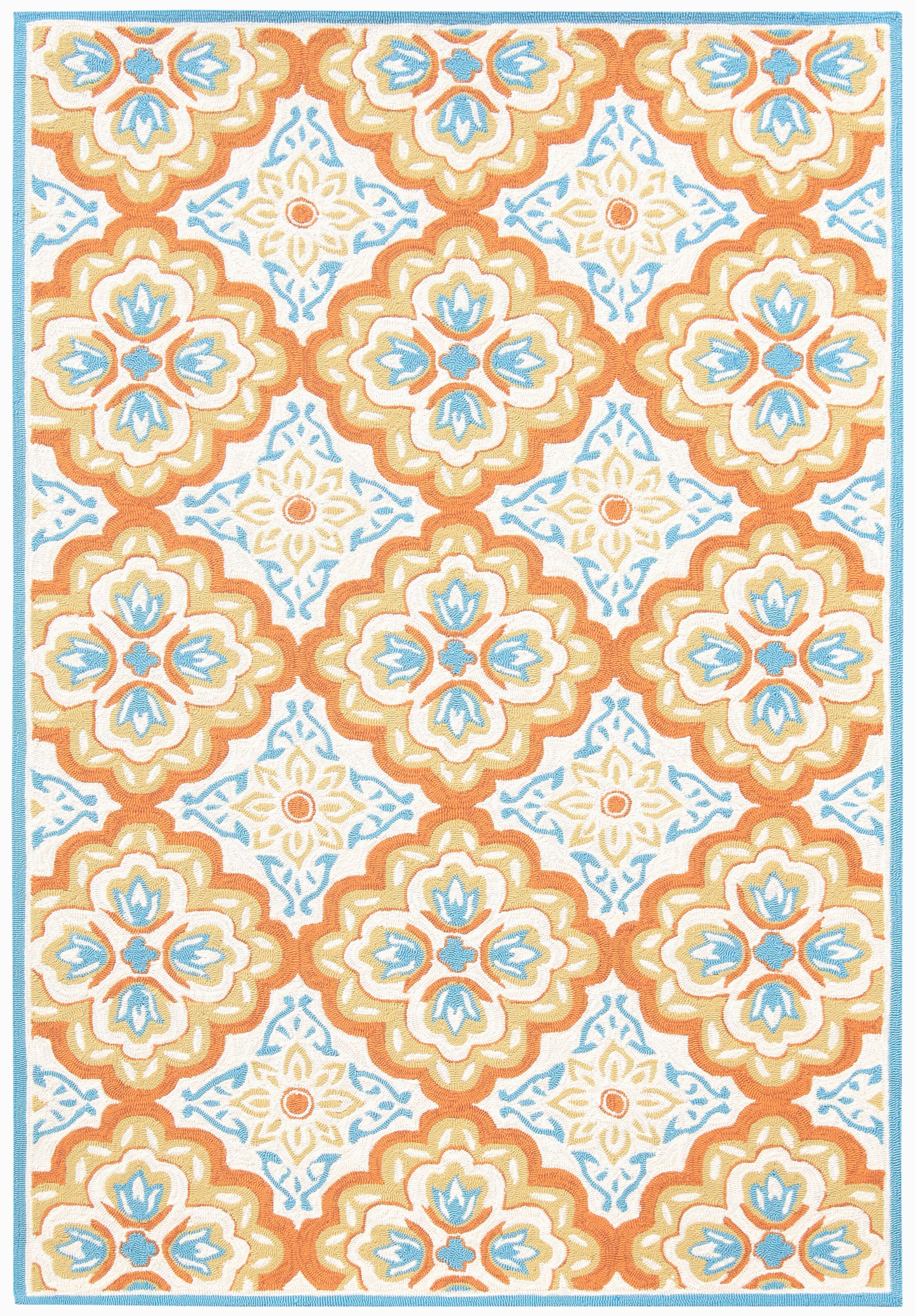 New Hartford Orange Indoor/Outdoor Area Rug Rug Size: Rectangle 4'x6'