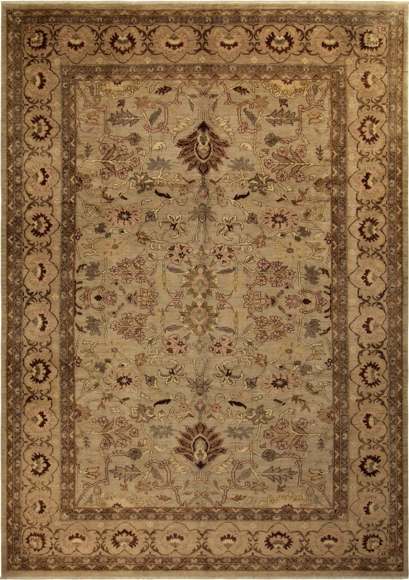 One-of-a-Kind Dorn Hand-Knotted 10' x 13'10