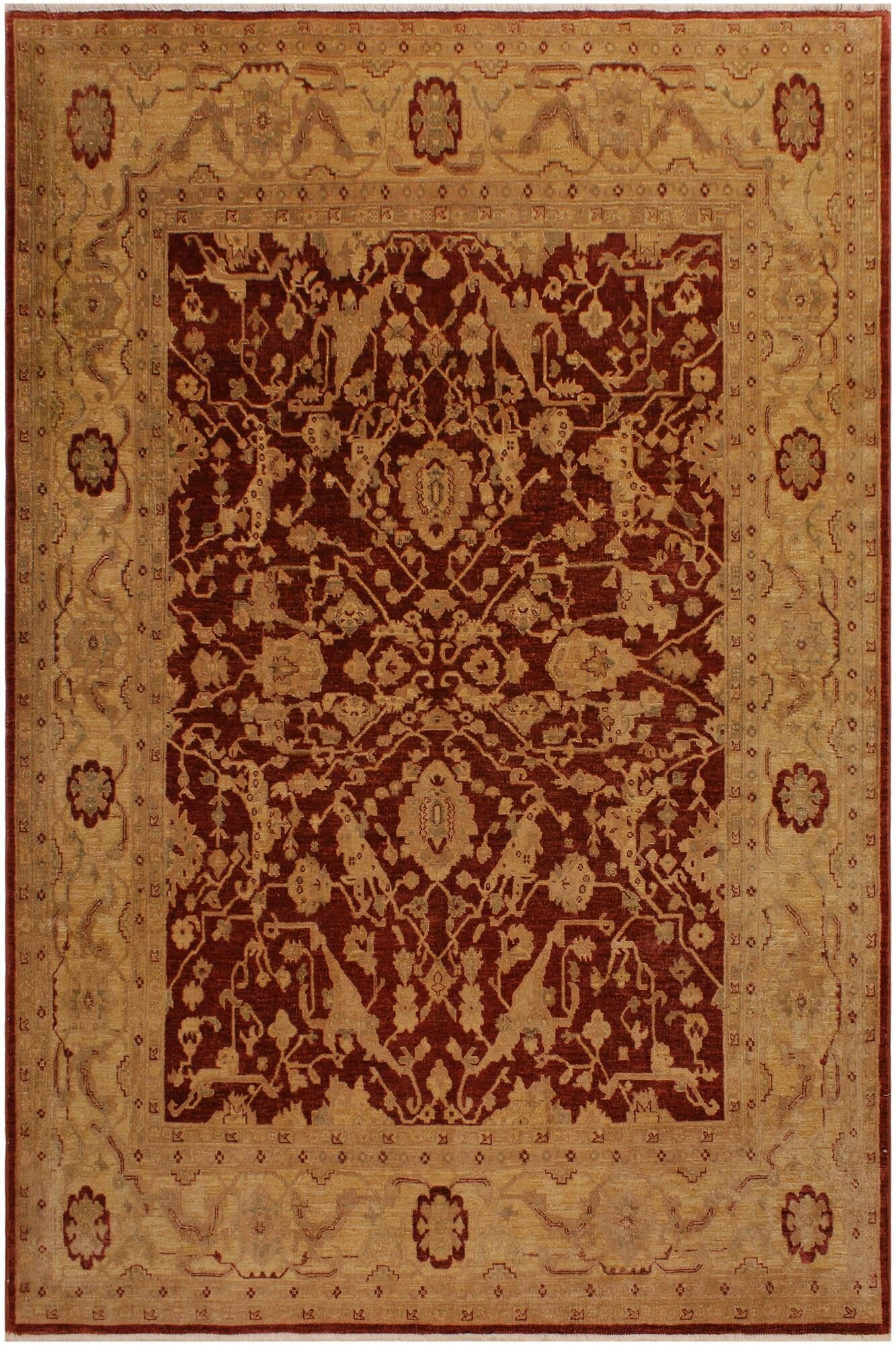One-of-a-Kind Dorn Hand-Knotted 8' x 9'10