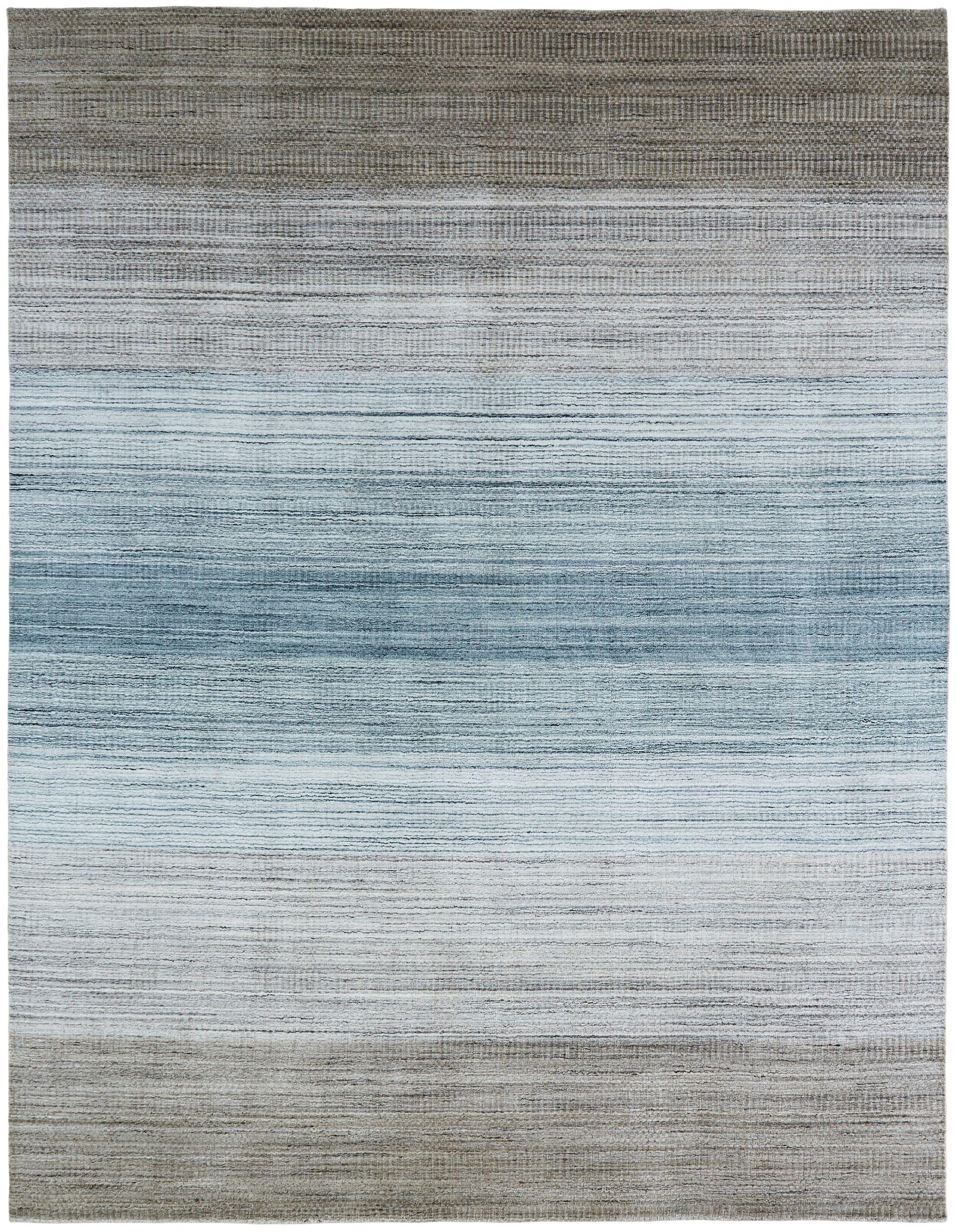 Madeley Handmade Wool/Silk Blue Area Rug Rug Size: Rectangle 2' x 3'