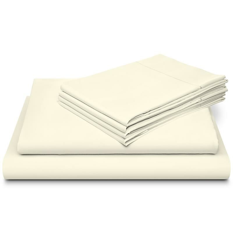 Morabito Hotel Luxury Marrow Hem 800 Thread Count 100% Cotton Sheet Set Size: Queen, Color: Sage Green