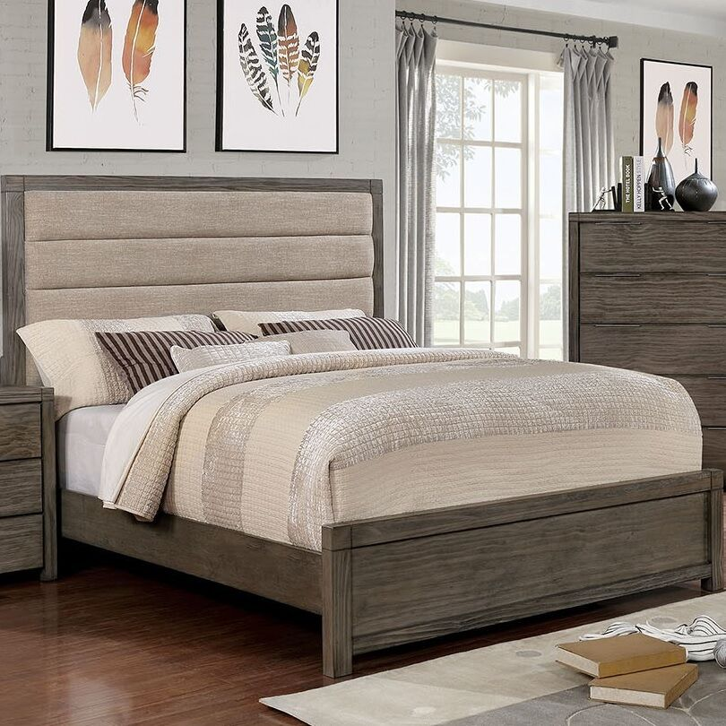 Elowen Upholstered Panel Bed Size: California King