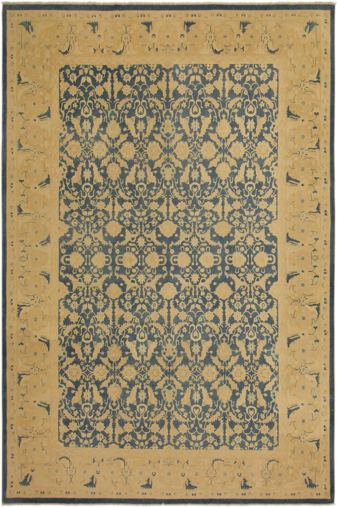 One-of-a-Kind Greeley Hand-Knotted 10' x 13'6