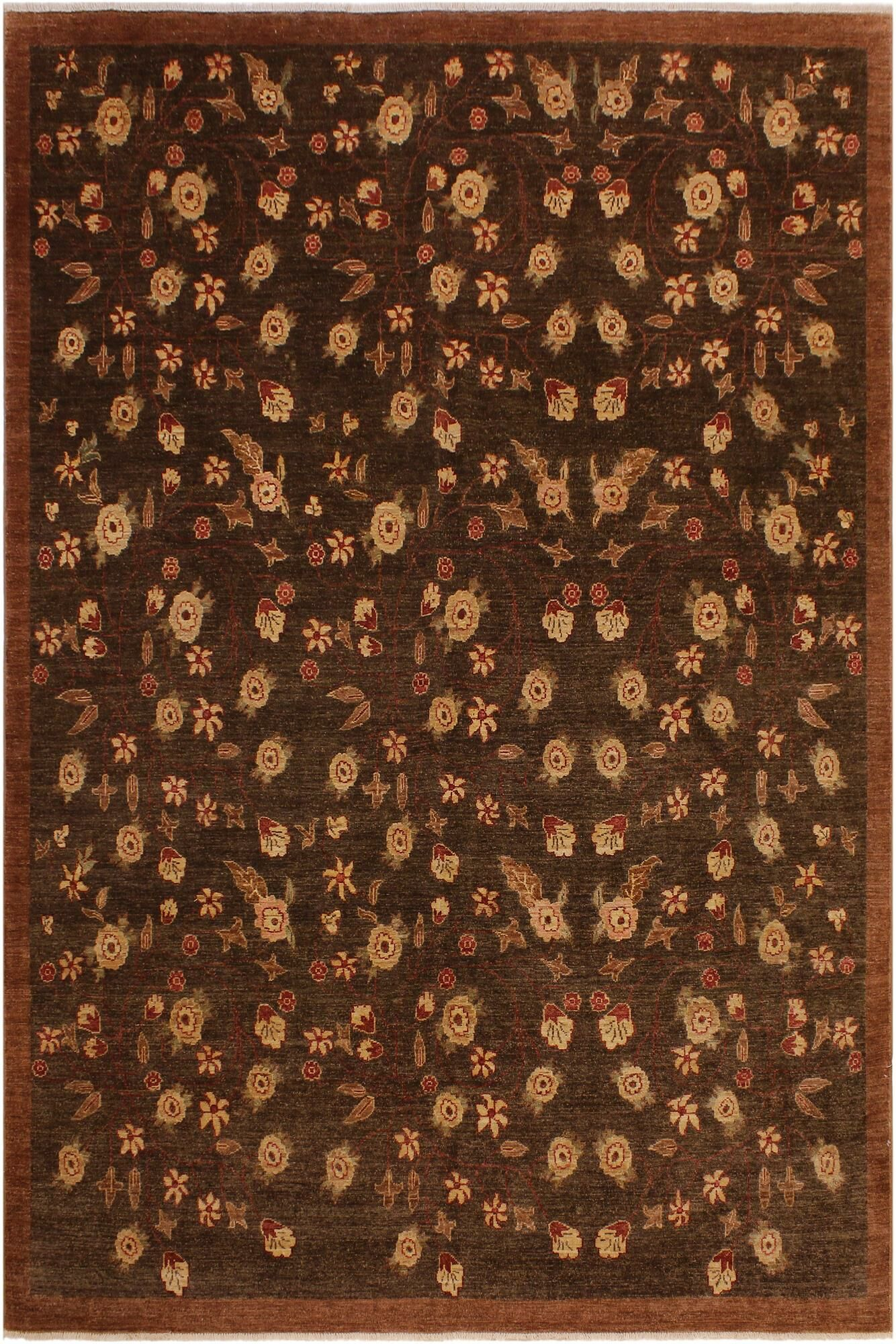 One-of-a-Kind Graysville Hand-Knotted 8' x 9'9