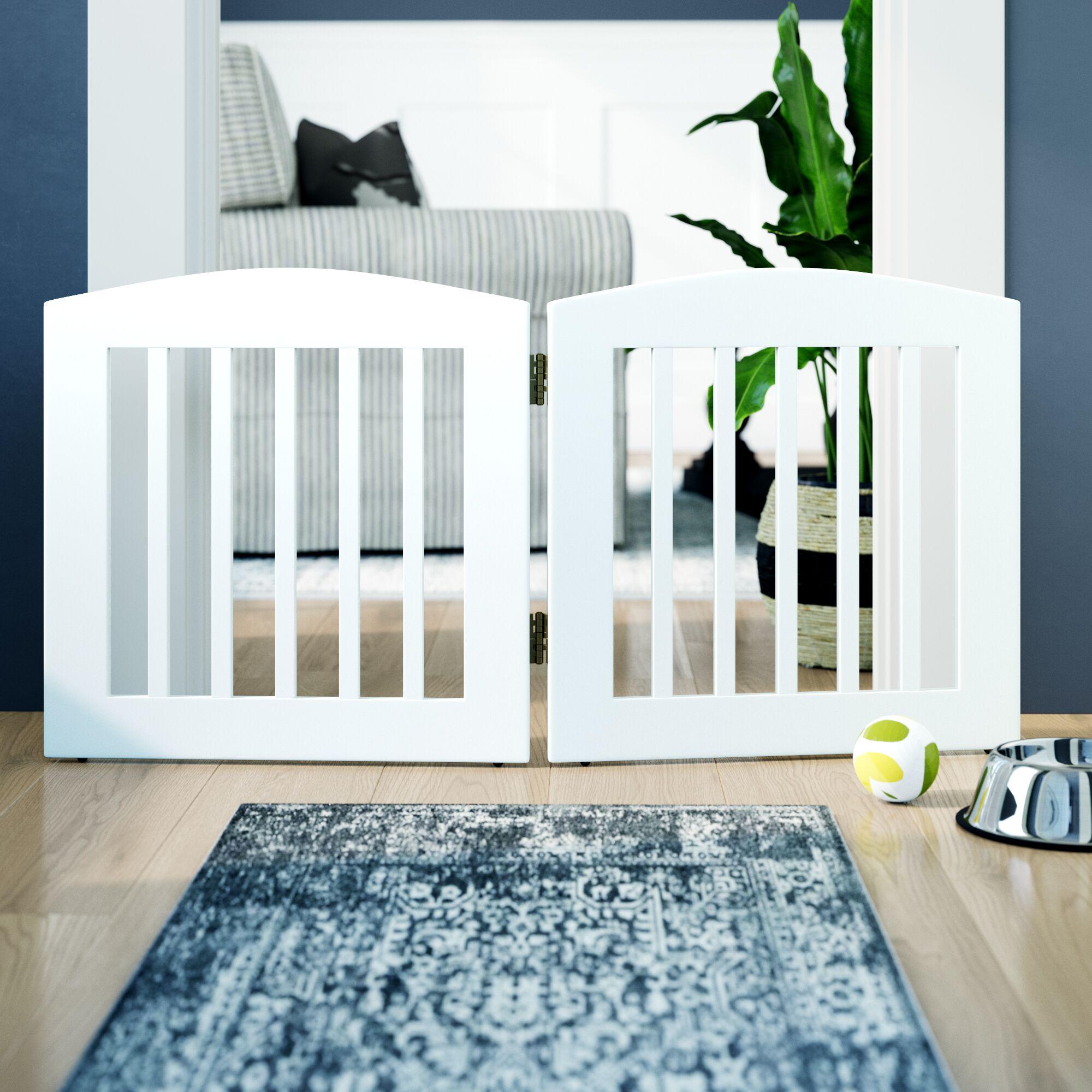 Daniella 2 Panel Expansion Dog Gate Size: Medium (24