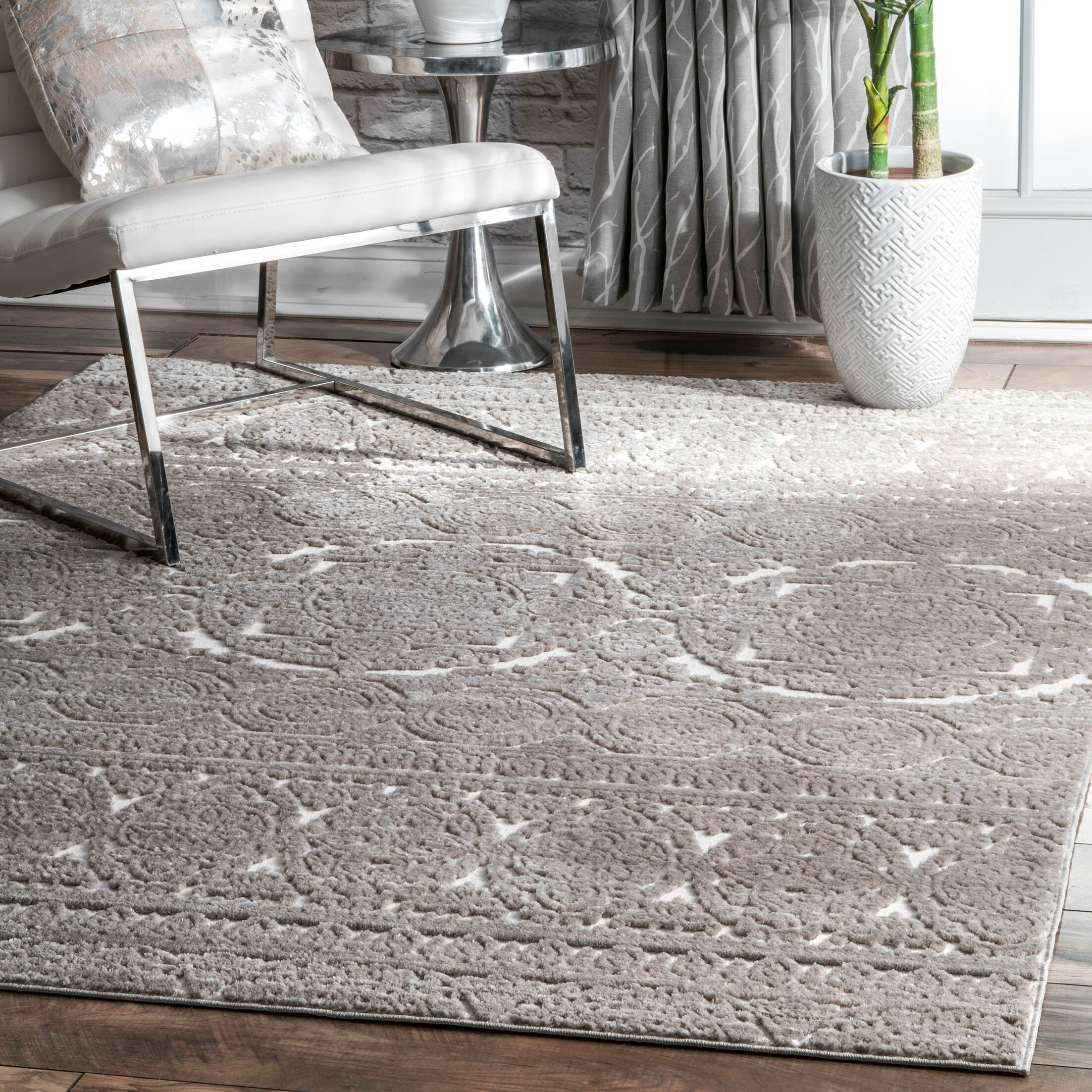 Troutdale Beige Area Rug Rug Size: Rectangle 5' x 8'
