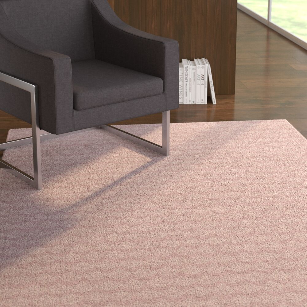 Zoie Pink Area Rug Rug Size: Rectangle 2' x 3'