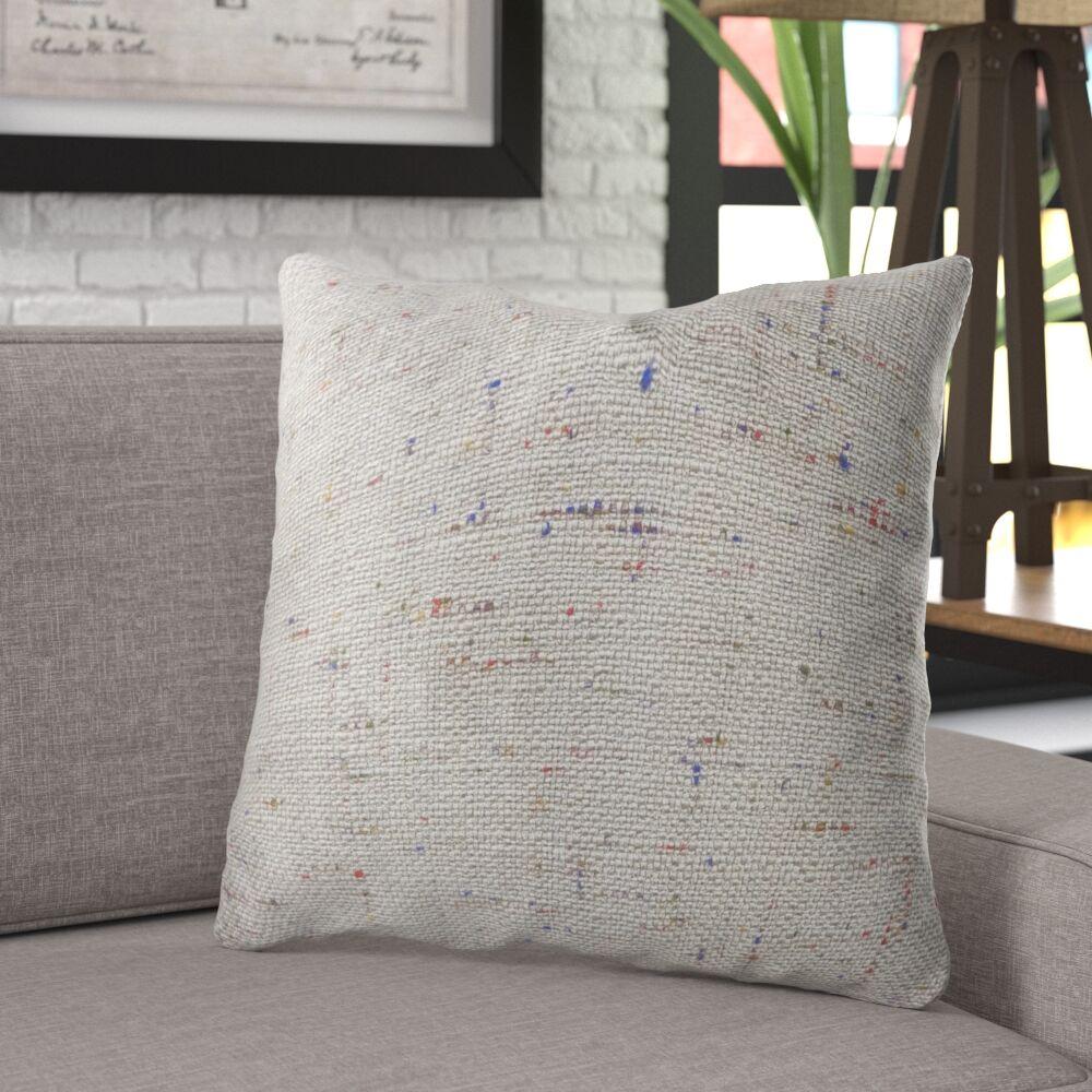 Lefler Luxury Throw Pillow Size: 18