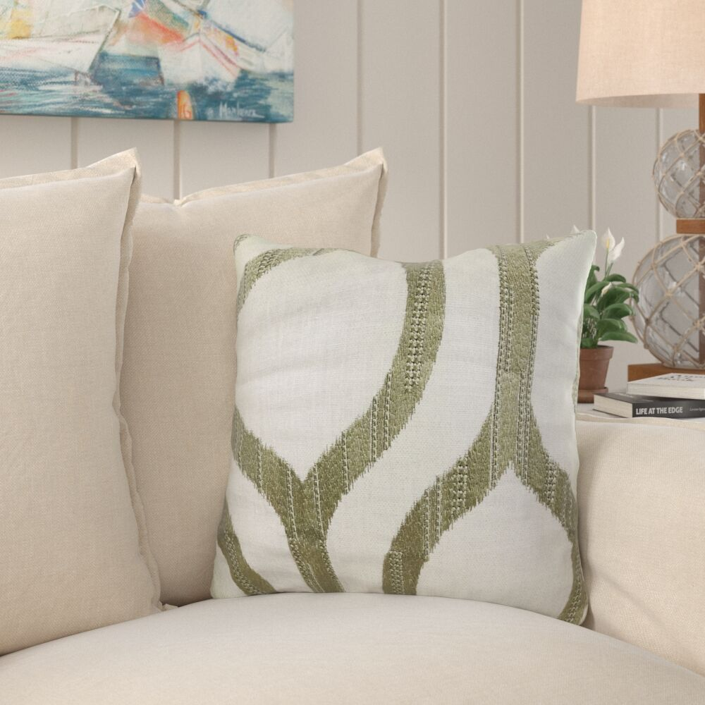 Kopp Light Grass Luxury Pillow Size: 20