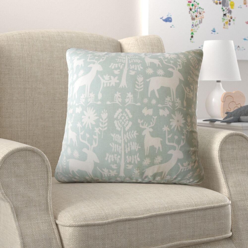 Avondale Animal Print Down Filled 100% Cotton Throw Pillow Size: 24