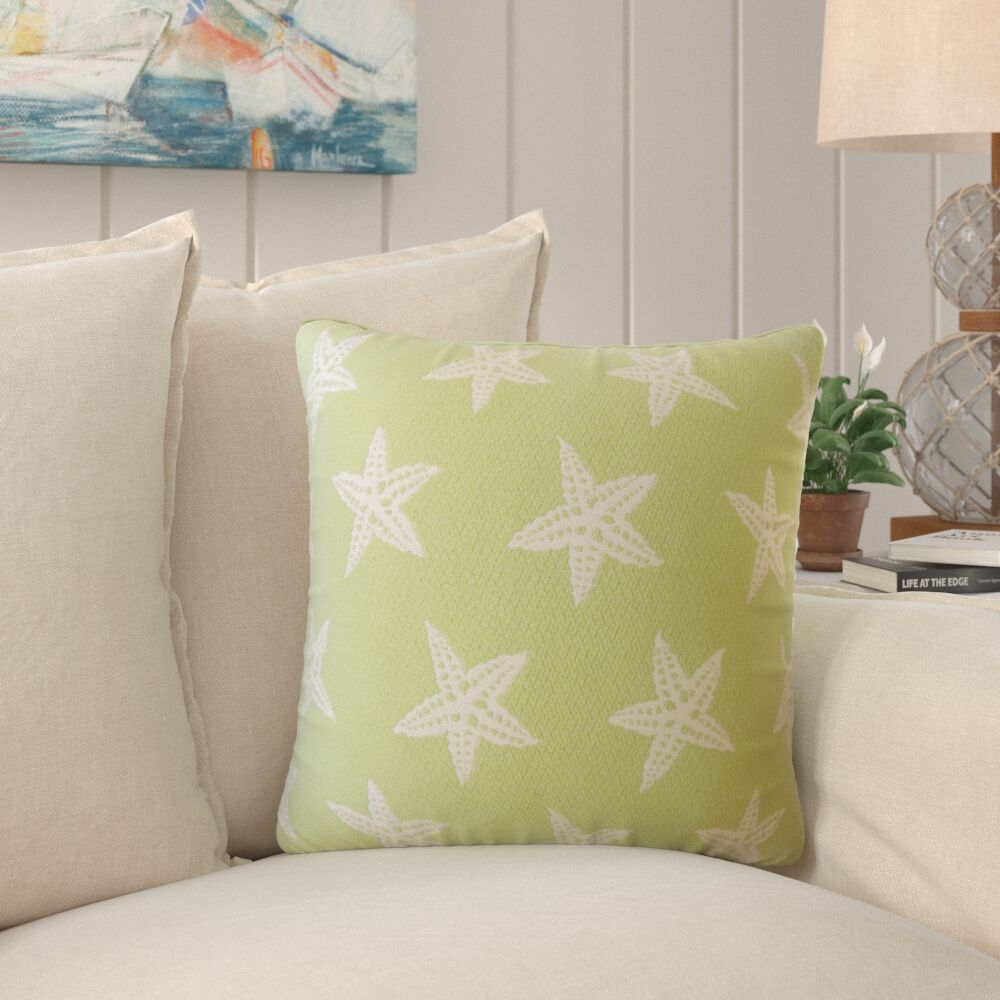 Plympton Coastal Down Filled Throw Pillow Size: 20
