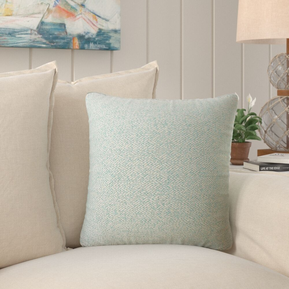 Evansville Solid Down Filled Throw Pillow Size: 20