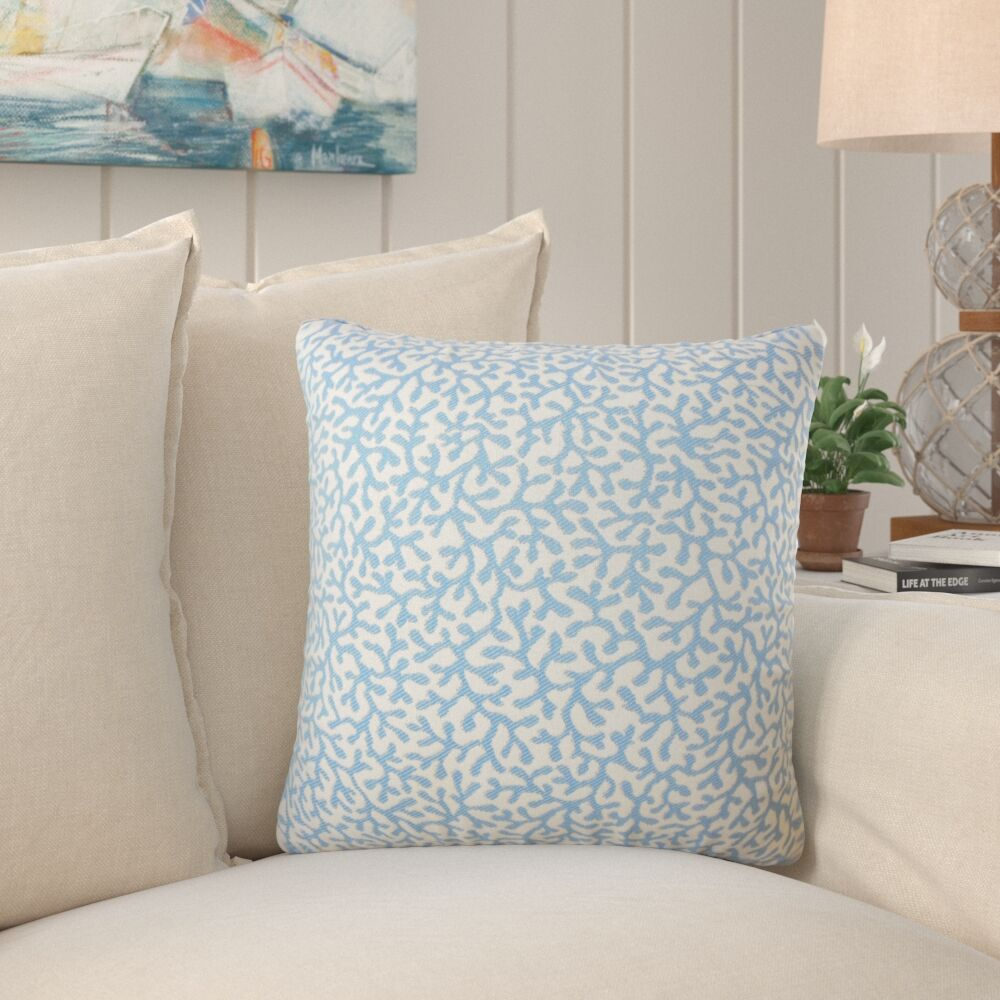 Sherborn Nautical Down Filled Throw Pillow Size: 22