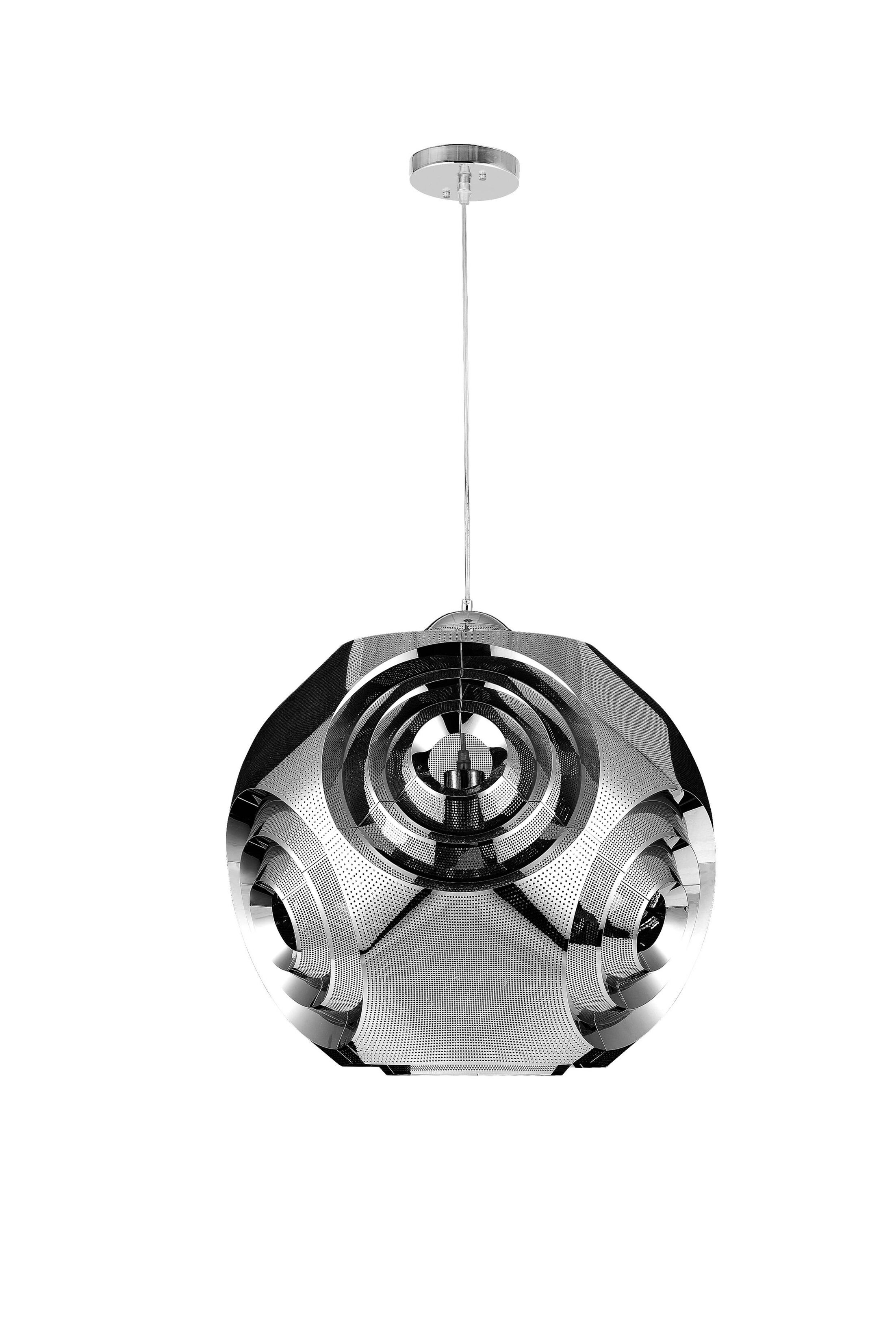 Kingsley 1-Light Globe Pendant Size: 19