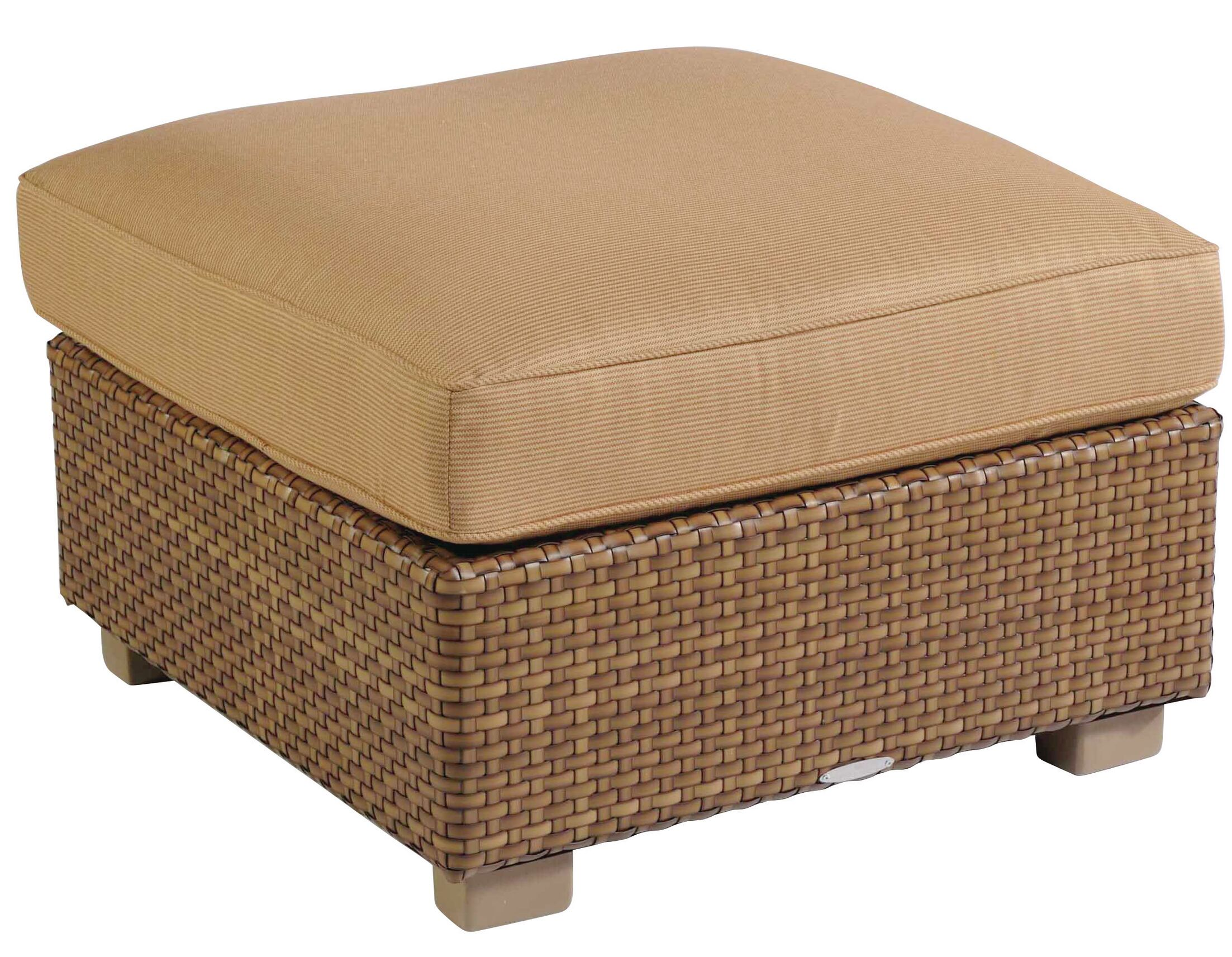 Sedona Ottoman with Cushion Fabric: Paris Blush