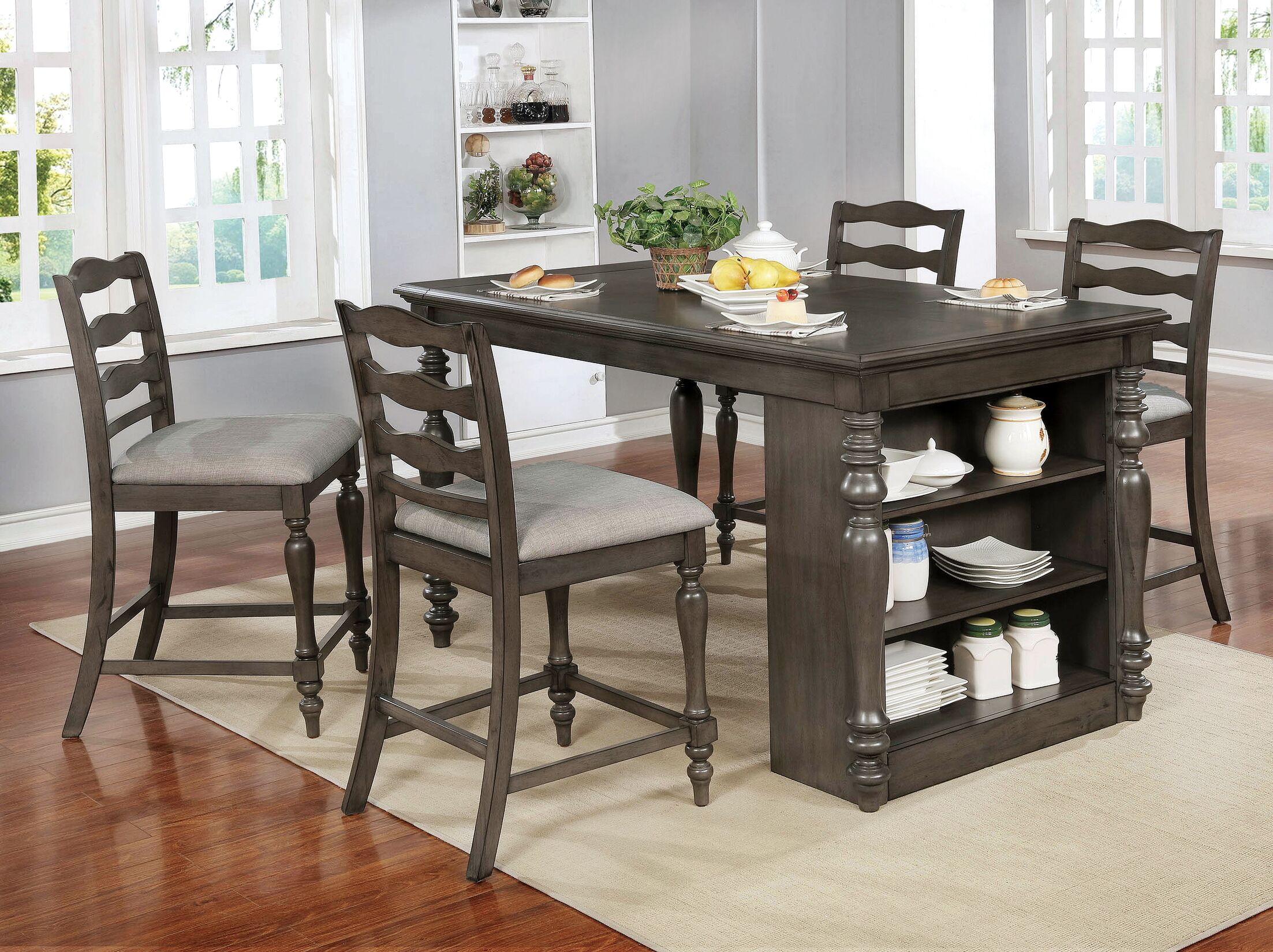 Dining Table Sets Traci 5 Piece Dining Set
