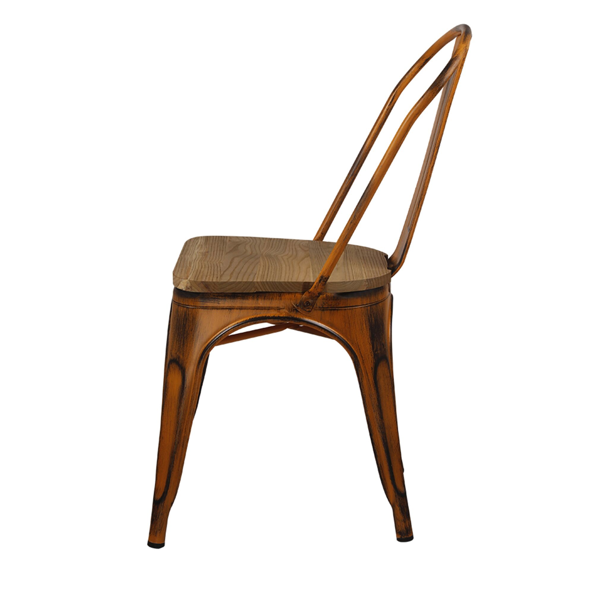 Albanese Dining Chair Color: Antique Orange