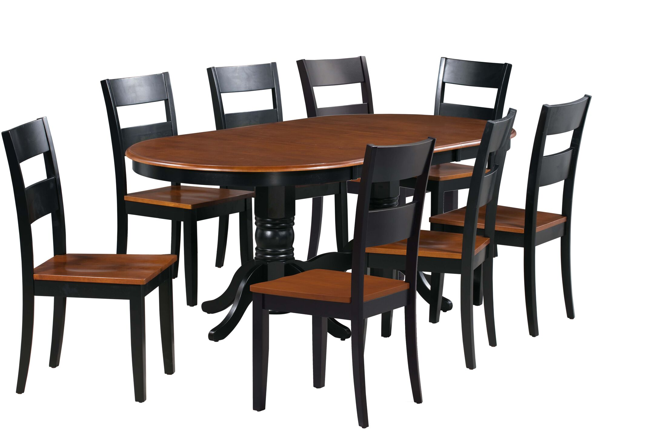 Dining Table Sets Dahlberg 9 Piece Extendable Solid Wood Dining Set