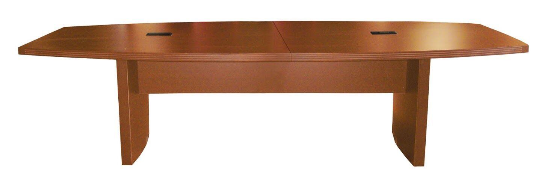 Gilberton Boat Shaped Conference Table Finish: Mocha, Size: 6' L