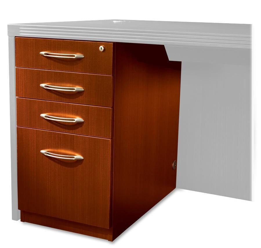 Aberdeen Desk File Pedestal Finish: Cherry, Size: 27.5
