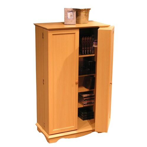 Rather Multimedia Cabinet Color: Beech
