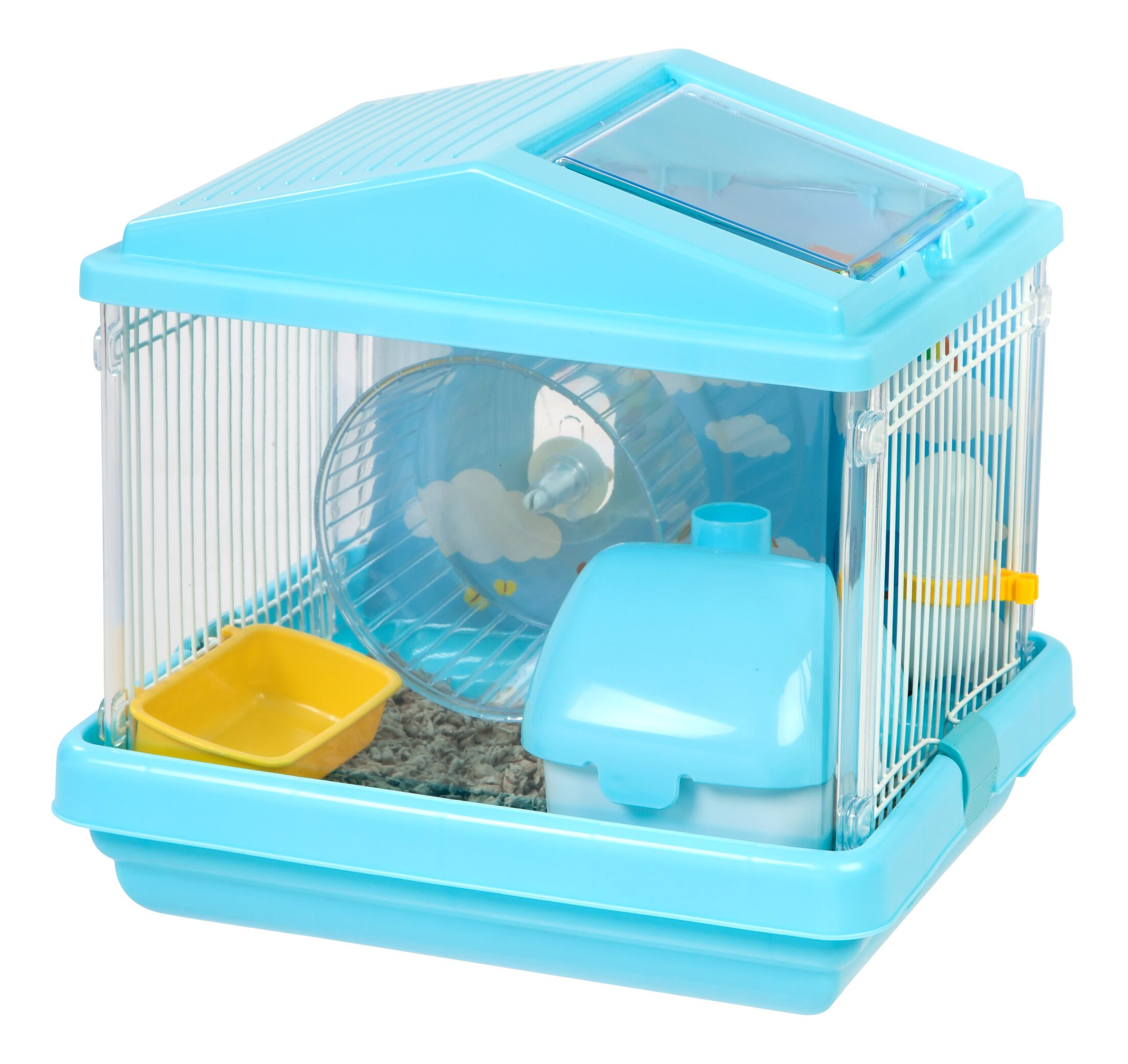 Raymond Hamster Cage Color: Blue