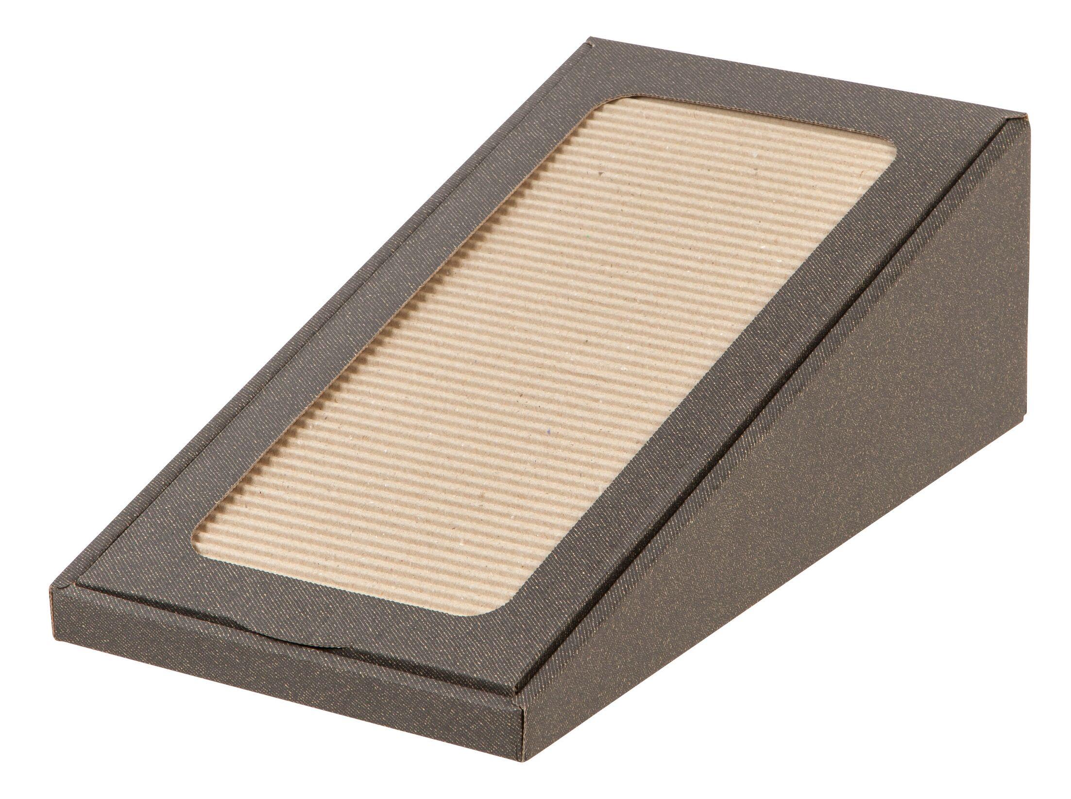 Rambler Scratch 'N Roll Cat Scratching Board Color: Brown