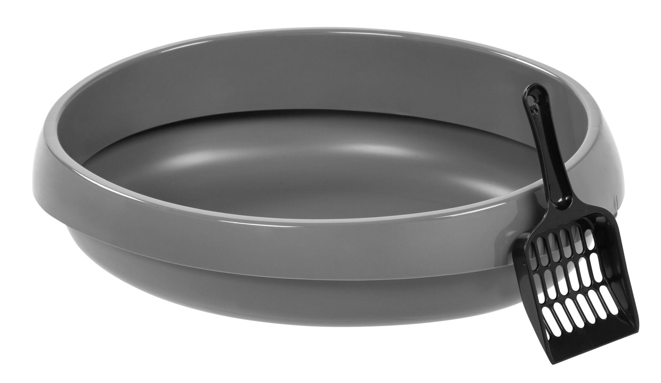 Rimmed Pan Liner 6 Pack Color: Gray