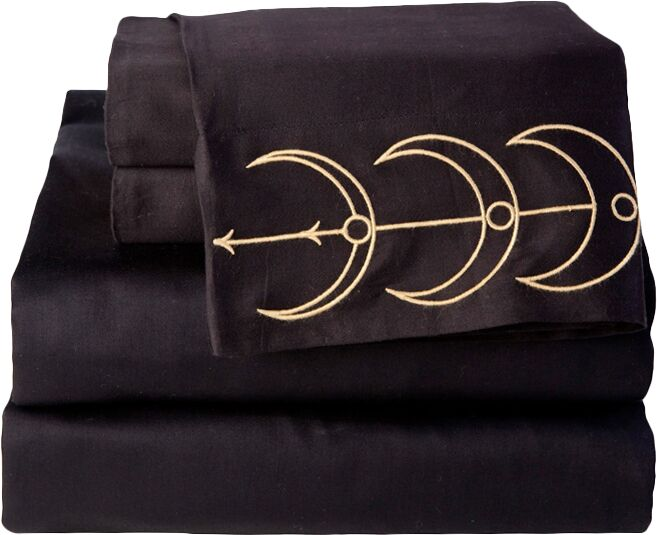 Moon Phase 300 Thread Count 100% Cotton Sheet Set Size: Queen