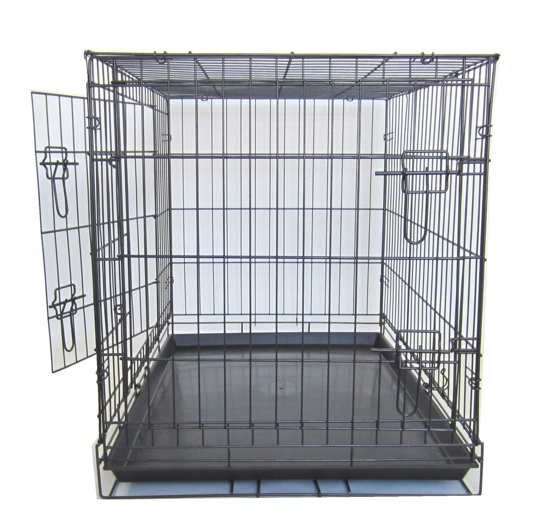 Double Door Pet Crate Size: 42