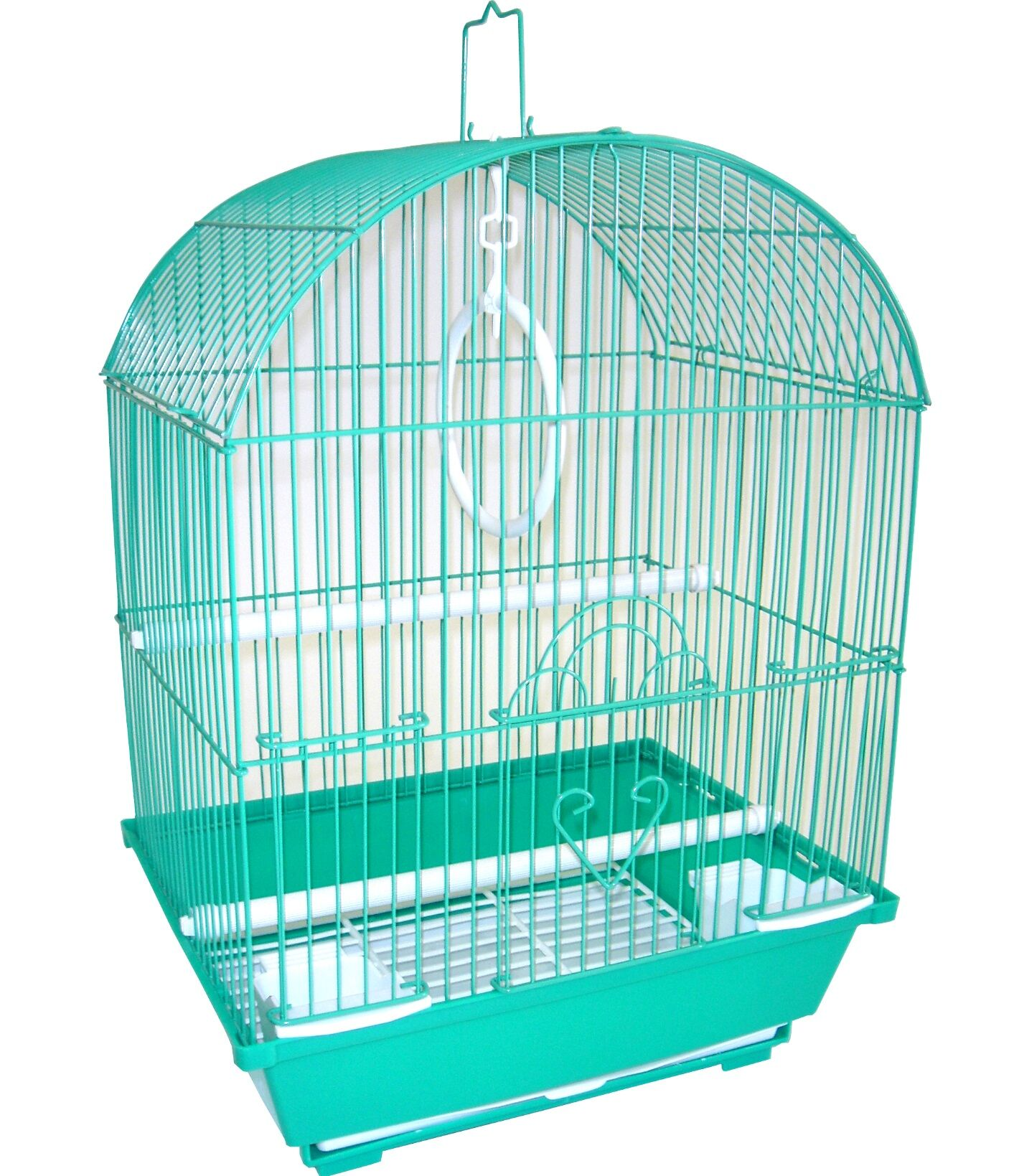 Honey Top Cage With Food Access Door Color: Green