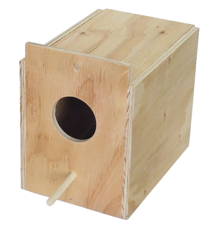 Lila Wooden Nest Box Size: 9