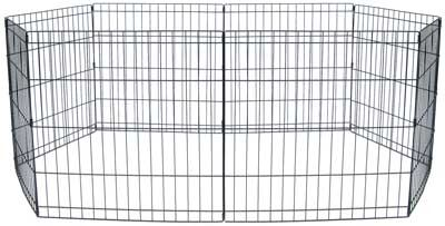 Omar Exercise Pet Pen Size: Small (24