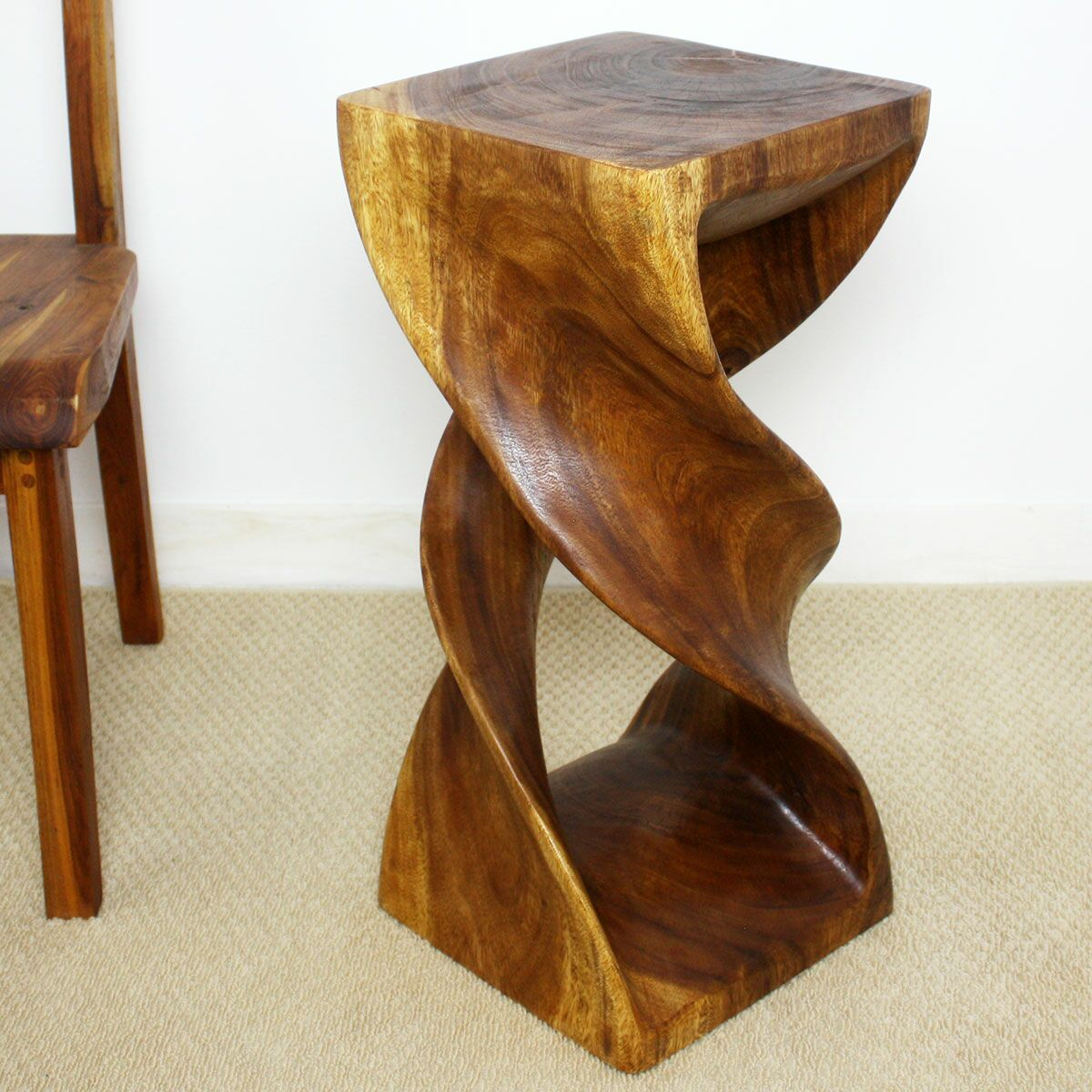 Kallie End Table Color: Walnut