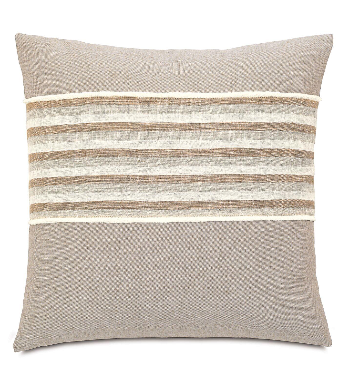Silas Linum Linen Throw Pillow