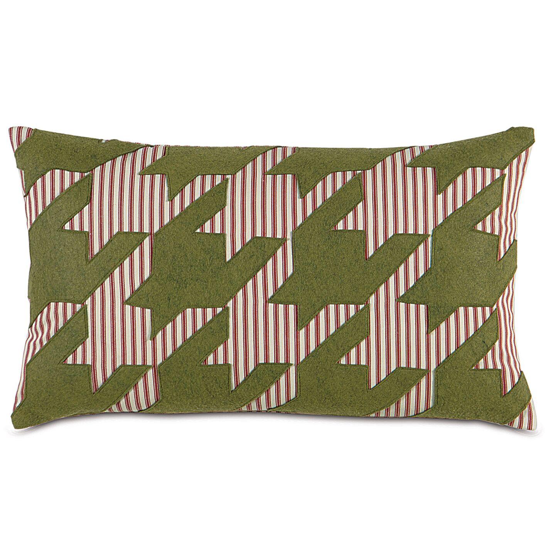 North Pole Reindeer Games Lumbar Pillow